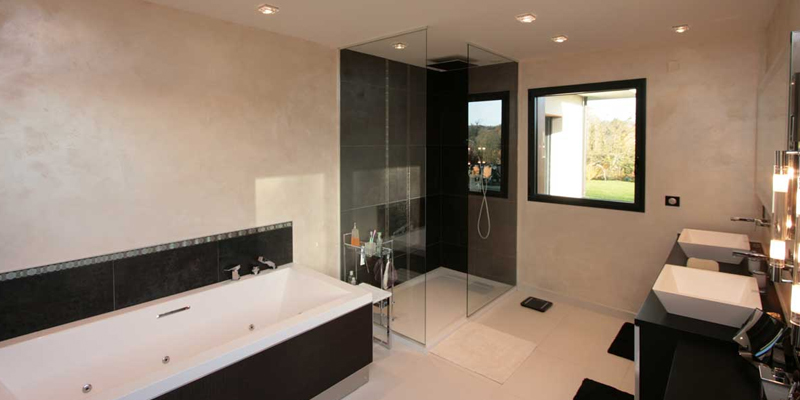 installation de douche l 39 italienne paris la douche. Black Bedroom Furniture Sets. Home Design Ideas
